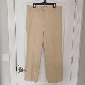 NWT Ralph Lauren Golf Pants 14 Classic Fit Khaki
